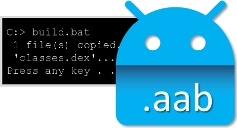 Build an AAB from the command line