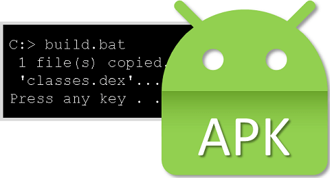 Build an APK from the command line